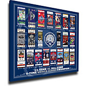 New York Yankees Derek Jeter Jersey Retirement Tickets to History Canvas