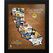 That's My Ticket 2017 NBA Finals Champions Golden State Warriors State of Mind Framed Print