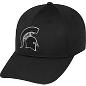 Top of the World Men's Michigan State Spartans Parallax Black 1Fit Flex Hat