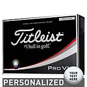 Titleist Pro V1x Custom Double Number Golf Balls