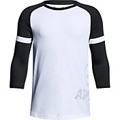 Under Armour Boys' MVP Power ¾ Sleeve Shirt