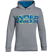 Under Armour Boys' Threadborne Fleece Logo Hoodie