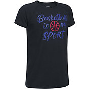 Under Armour Girls' Basketball Is My Sport Graphic Basketball T-Shirt