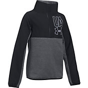 Under Armour Girls' Phenom Fleece Half-Snap Pullover Sweatshirt