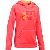 Under Armour Girls' Armour Fleece Big Logo Hoodie