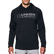 Under Armour Men's Armour Fleece Wordmark Graphic Hoodie