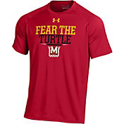 Under Armour Men's Maryland Terrapins Red 'Fear the Turtle' T-Shirt