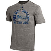 Under Armour Men's Penn State Nittany Lions Grey Tri-Blend Performance T-Shirt