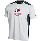 Under Armour Men's Utah Utes White Raid T-Shirt