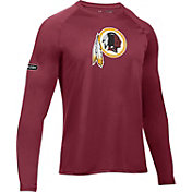 Under Armour NFL Combine Authentic Men's Washington Redskins Logo Red Tech Long Sleeve Shirt