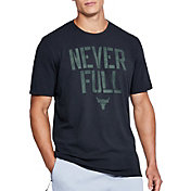 Under Armour Men's Project Rock Never Full Graphic T-Shirt