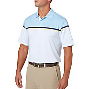 Walter Hagen Men's Distinguished Colorblock Stripe Golf Polo