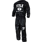 TITLE Boxing Pro Set Nylon Sweat Suit
