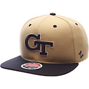 Zephyr Men's Georgia Tech Yellow Jackets Gold/Navy Z-Wool Z11 Snapback Hat