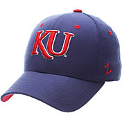 Zephyr Men's Kansas Jayhawks Blue DH Fitted Hat