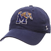 Zephyr Men's Memphis Tigers Blue Scholarship Adjustable Hat