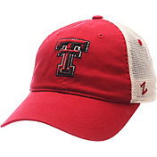 Zephyr Men's Texas Tech Red Raiders Red/White University Adjustable Hat