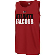 '47 Men's Atlanta Falcons Mesh Print Red Tank Top