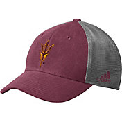 adidas Men's Arizona State Sun Devils Maroon Mesh Back Structured Flex Hat