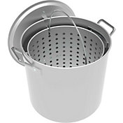LoCo 60-Quart Aluminum Pot with Strainer