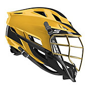Cascade Youth Custom S Lacrosse Helmet w/ Gold Pearl Mask