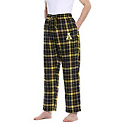 Concepts Sport Men's Appalachian State Mountaineers Black/Gold Ultimate Sleep Pants