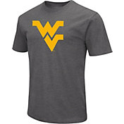 Colosseum Men's West Virginia Mountaineers Grey Dual Blend T-Shirt