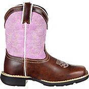 Durango Kids' Lavender Pull-On Western Boots