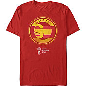 Fifth Sun Men's Spain Countrast Round Red T-Shirt