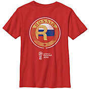 Fifth Sun Youth 2018 FIFA World Cup Russia Contrast Round Red T-Shirt