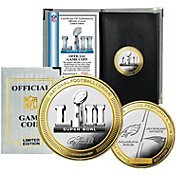 Highland Mint Super Bowl LII Dueling Official 2-Tone Flip Coin