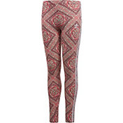 adidas Originals Girls' Mosaic Graphic Leggings