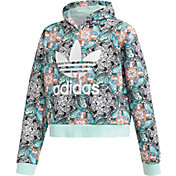 adidas Originals Girls' Zoo Print Hoodie