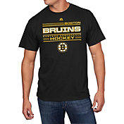 Majestic Men's Boston Bruins Forecheck Black T-Shirt