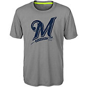 Majestic Youth Milwaukee Brewers Reigning Champs T-Shirt