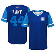 Majestic Youth Chicago Cubs Anthony Rizzo 'Tony' MLB Players Weekend Jersey Top