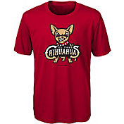 Majestic Youth El Paso Chihuahuas Red T-Shirt