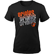 Majestic Youth Girls' Baltimore Orioles 3-Peat T-Shirt