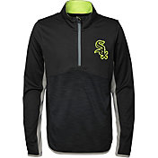 Majestic Youth Chicago White Sox Excellence Quarter-Zip Fleece