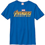 Fifth Sun Boys' Marvel Avengers Infinity Wars Logo Graphic Tee