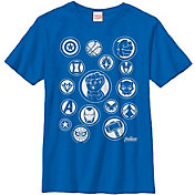 Fifth Sun Boys' Marvel Avengers Infinity Wars Symbol Graphic Tee