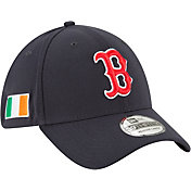 New Era Men's Boston Red Sox 39Thirty Stretch Fit Hat w/ Irish Flag Patch
