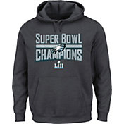 NFL Men's Super Bowl LII Champions Philadelphia Eagles Sudden Impact Charcoal Hoodie
