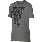 Nike Boys' Dry Just Do It Splash Graphic Tee