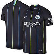Nike Men's Manchester City 2018 Breathe Stadium Away Replica Jersey