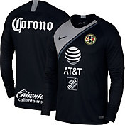 Nike Men's Club America 2018 Breathe Stadium Home Replica Long Sleeve Jersey