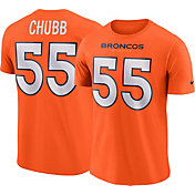 Bradley Chubb #55 Nike Men's Denver Broncos Pride Orange T-Shirt