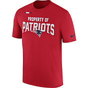 Nike Men's New England Patriots Property Of Red T-Shirt