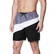 Nike Men's Macro Swoosh Breaker Swim Trunks