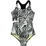 Nike Girls' Amp Axis Racerback Sport Swimsuit